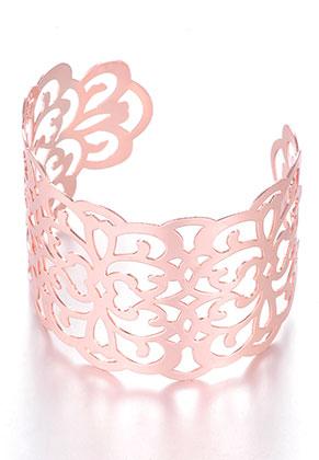 www.misstella.nl - Metalen cuff armband 17,5cm ^