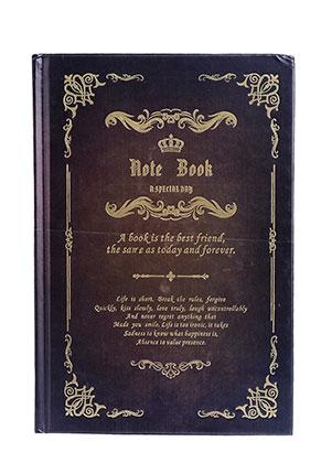 www.misstella.fr - Carnet de notes avec décoration d'oré 21,5x14,5x1,8cm