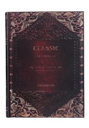 www.misstella.fr - Carnet de notes avec décoration d'oré 25x18,5x2,5cm