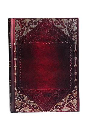 www.misstella.fr - Carnet de notes avec décoration d'oré 17,5x13x2cm