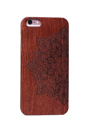 www.misstella.nl - Houten back cover telefoonhoesje voor iPhone 7 / iPhone 8 14x6,9x1cm