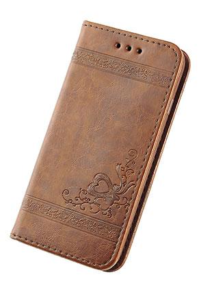 www.misstella.nl - Imitatieleren book case telefoonhoesje voor iPhone 7 / iPhone 8 14x7,1x1,5cm