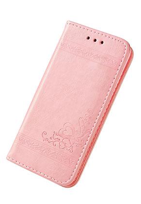www.misstella.fr - Housse pour portable iPhone 7 / iPhone 8 book case en cuir artificiel 14x7,1x1,5cm