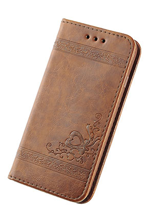 www.misstella.com - Imitation leather book case phone case for iPhone X 14,6x7,6x1,6cm