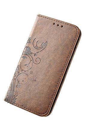www.misstella.fr - Housse pour portable iPhone X book case en cuir artificiel 14,6x7,6x1,6cm