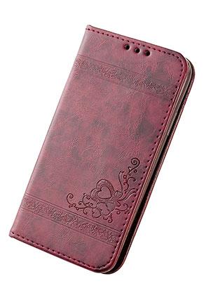 www.misstella.es - Funda para móvil iPhone X book case de cuero artificial 14,6x7,6x1,6cm