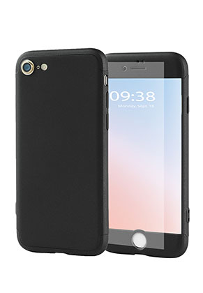 www.misstella.es - Funda para móvil iPhone 7 / iPhone 8 full coverage 360º de material sintético 14,2x7,1x0,9cm