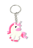 www.misstella.com - Synthetic key fobs emoji unicorn - D32360