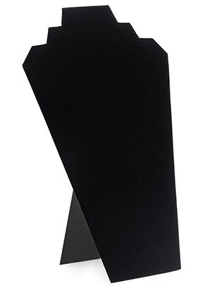 www.misstella.nl - Kartonnen/stoffen sieraden display buste 32x21cm