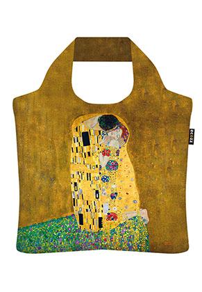 www.misstella.com - Ecozz eco shopper tote bag The Kiss (Gustav Klimt 1908-1909)