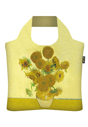 www.misstella.nl - Ecozz ecoshopper Sunflowers (Vincent van Gogh 1888)