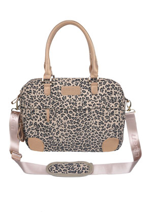www.misstella.com - Lisen laptop bag with leopard print 14 inch