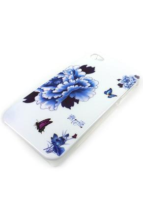 www.misstella.nl - Hoesje/case voor iPhone 4/4S met bloemen