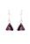 www.misstella.fr - Boucles d'oreilles en argent 925 avec SWAROVSKI ELEMENTS pendentifs