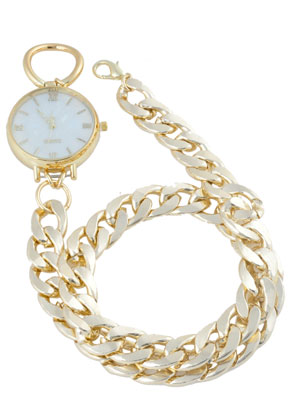 www.misstella.nl - Horloge met ketting