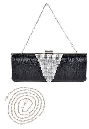 www.misstella.com - Clutch/evening bag with strass