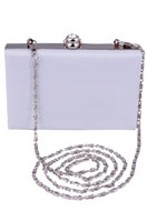 www.misstella.com - Clutch with crocodile print and strass - F01204