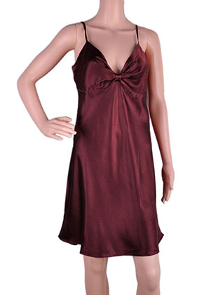 www.misstella.com - Silk night gown (100% silk)