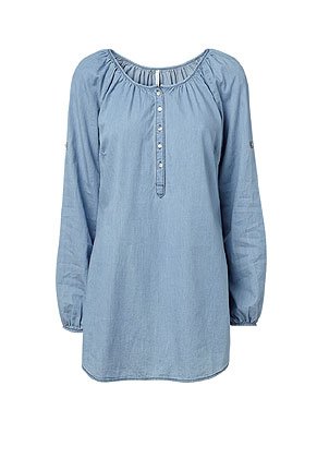 www.misstella.com - Denim blouse