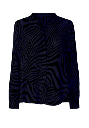 www.misstella.com - Blouse with zebra print
