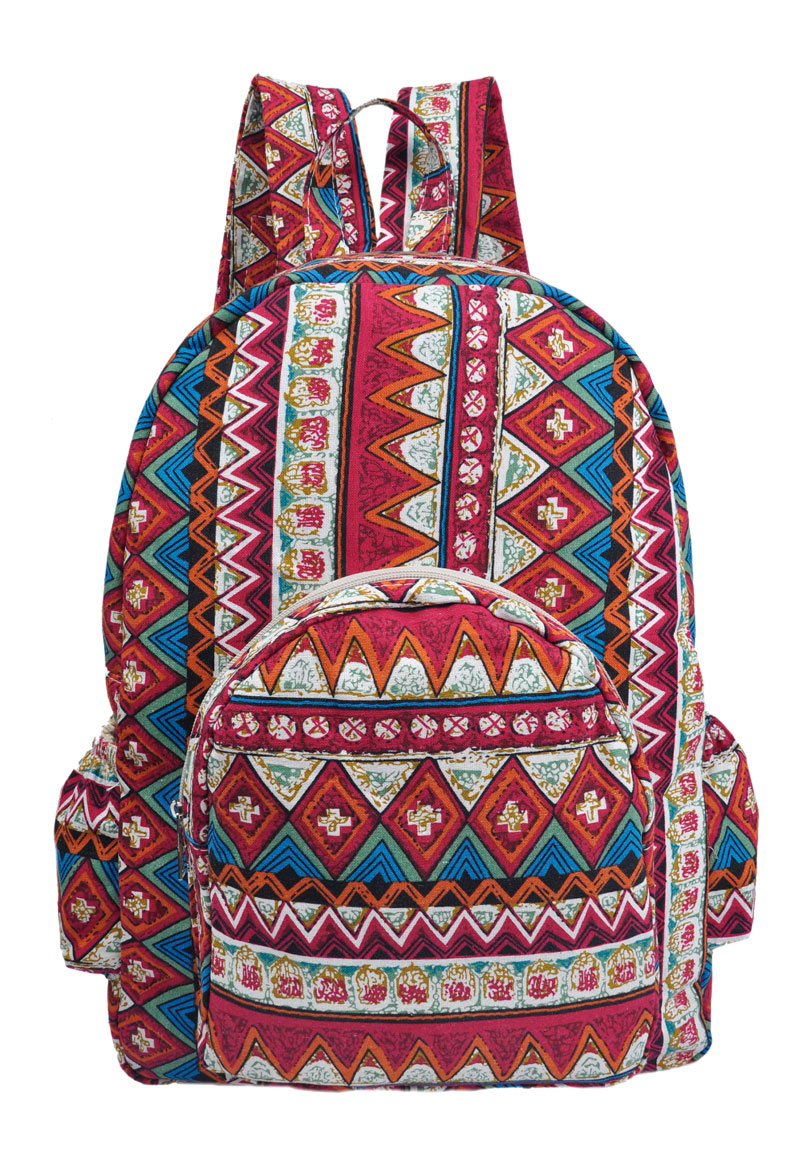 Ethnic Backpack 106