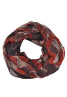 www.misstella.com - Tunnel scarf with flowers - F03513