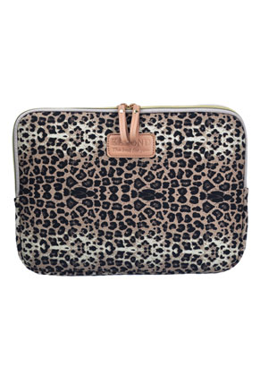 www.misstella.com - Tablet sleeve with leopard print