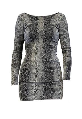 www.misstella.com - Dress with snake print
