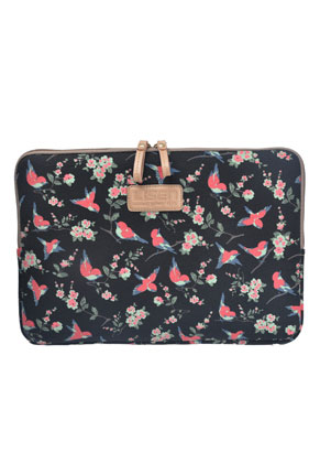 www.misstella.fr - Etui pour ordinateur portable 13,3 pouces avec oiseaux