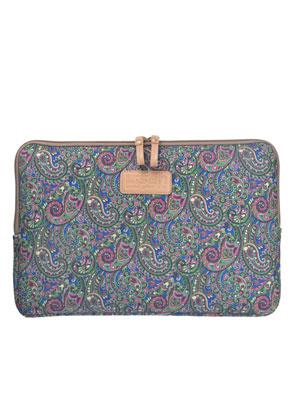www.misstella.nl - Laptop sleeve 13,3 inch met Paisley print