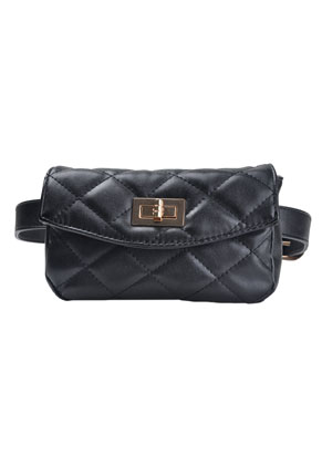 www.misstella.com - Quilted hip bag