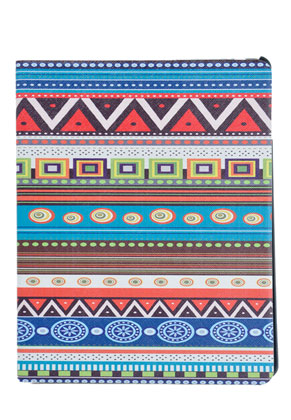 www.misstella.com - iPad case Aztec