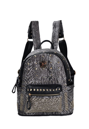www.misstella.com - Backpack with snake print