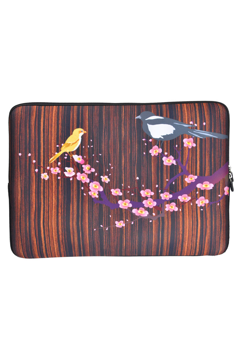 etui pour ordinateur portable 13 pouces birds. Black Bedroom Furniture Sets. Home Design Ideas