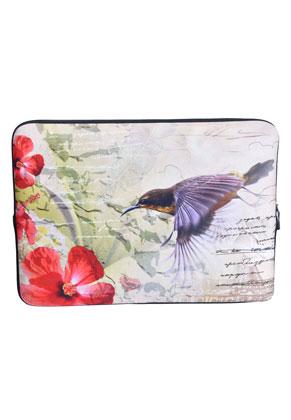 www.misstella.nl - Laptop sleeve 13,3 inch met vogel