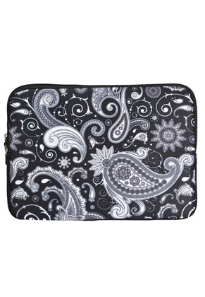 www.misstella.com - Tablet/I-pad sleeve with Paisley print