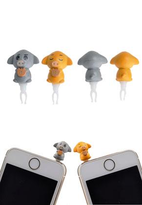 www.misstella.com - Anti-dust plug pig