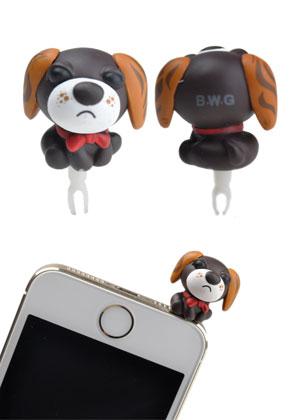 www.misstella.com - Anti-dust plug dog