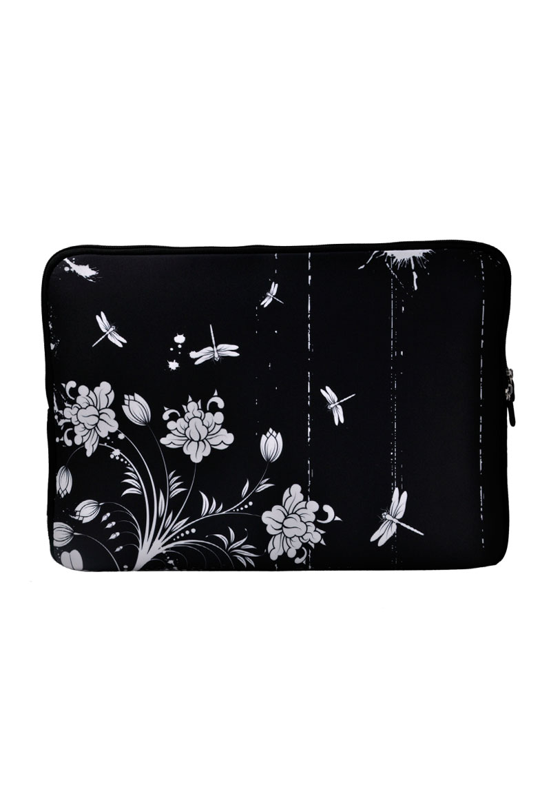 etui pour ordinateur portable 13 pouces avec fleurs. Black Bedroom Furniture Sets. Home Design Ideas