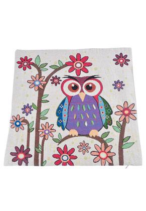 www.misstella.com - Cushion cover with owl 45x45cm
