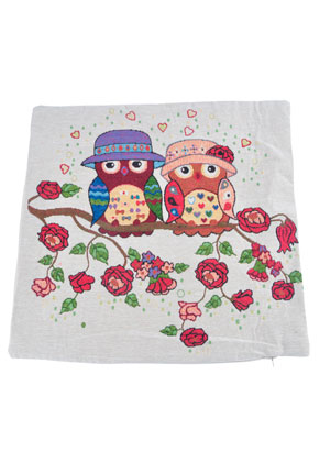 www.misstella.com - Cushion cover with owls 45x45cm
