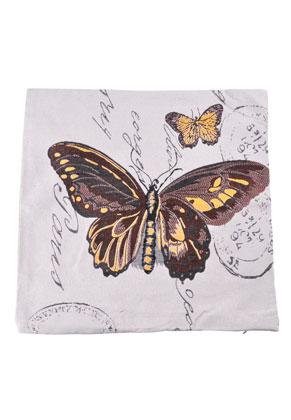 www.misstella.nl - Kussenhoes met vlinders 45x45cm
