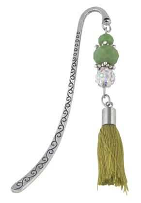 www.misstella.com - Bookmark with tassel