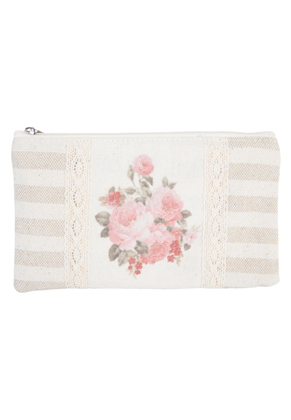 www.misstella.com - Clayre & Eef case/pencil bag with roses 19x11cm