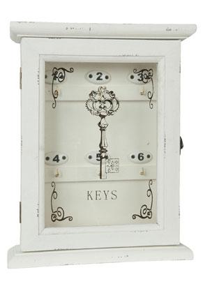 www.misstella.nl - Clayre & Eef sleutelkastje 32x25x8cm