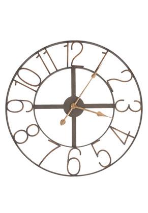 www.misstella.fr - Clayre & Eef horloge circulaire - Ø 60 cm - 60x2cm