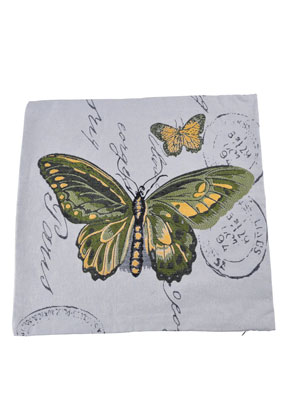 www.misstella.com - Cushion cover with butterflies 45x45cm