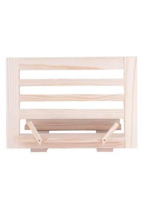 www.misstella.com - Wooden book stand 34x24cm