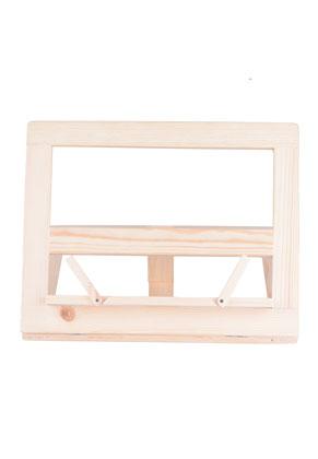 www.misstella.com - Wooden book stand 31x25cm