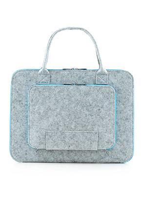 www.misstella.com - Felt laptop sleeve / laptop bag 13 inch